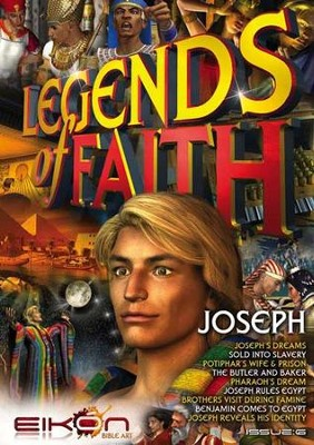 Legends of Faith - issue 6: Joseph - PDF Download  [Download] -     By: Phil Houghton, Graeme Hewitson, Eikon Bible Art
