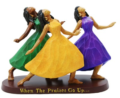 Praises Go Up Figurine  -