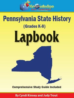 Pennsylvania State History Lapbook - PDF Download  [Download] -     By: Cyndi Kinney, Judy Trout