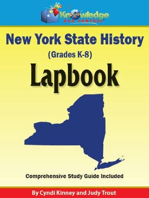 New York State History Lapbook - PDF Download  [Download] -     By: Cyndi Kinney, Judy Trout