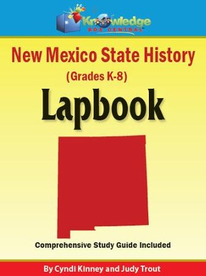 New Mexico State History Lapbook - PDF Download  [Download] -     By: Cyndi Kinney, Judy Trout