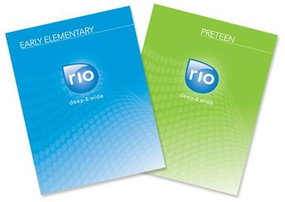 Rio Digital Kit-Early Elem & Preteen-Fall Year 1   [Download] -