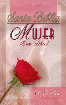 Biblia RVR 1960 Mujer, ¡Eres Libre! Enc. Dura  (RVR 1960 Woman Thou Are Loosed! Bible, Hardcover)  -     Edited By: T.D. Jakes