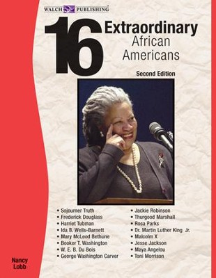16 Extraordinary African Americans, 2nd Edition - PDF Download  [Download] -     By: Nancy Lobb