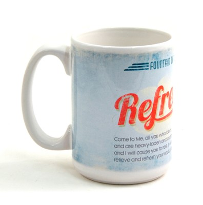 Fountain of Living Water, Refresh Mug  -