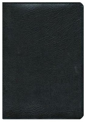 Biblia Plenitud RVR 1960, Piel Fabricada Negro  (RVR 1960 Spirit-Filled Study Bible, B. Leather Black)  -