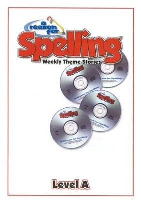 A Reason For Spelling Level A, Audio CD's   -