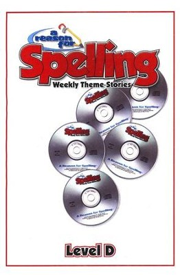 A Reason For Spelling Level D, Audio CD's   -