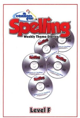 A Reason For Spelling Level F, Audio CD's   -