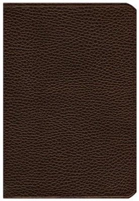 ESV Pitt Minion Reference Bible, Calf Split leather, brown  -