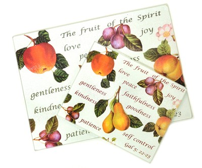 Fruit of the Spirit, Cutting Board Set   -