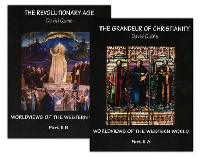 The Grandeur of Christianity & the Revolutionary Age, Year 2 Syllabus: World Views of the Western World  -     By: David Quine