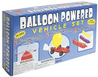 Balloon-Powered Vehicle Set   -