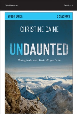 Be the Hope: Undaunted Study Guide, Session 3 - PDF Download  [Download] -     By: Christine Caine, Sherry Harney