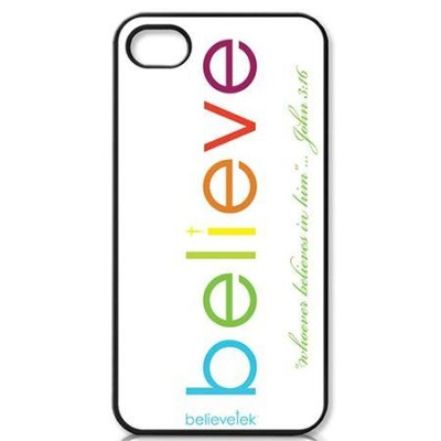 Believe iPhone 4 Case, White  -