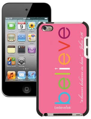 Believe iPod Touch 4G Case, Pink  -