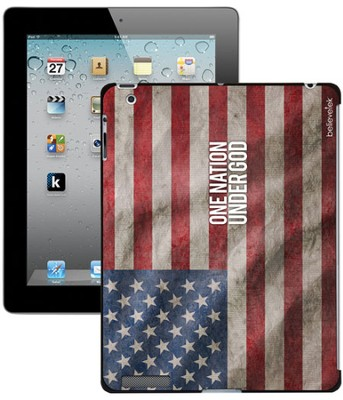 One Nation Under God America Flag iPad Case  -