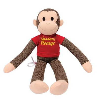 Curious George Sock Monkey  -