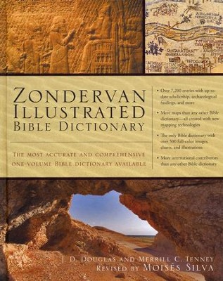 Zondervan Illustrated Bible Dictionary: Based on Articles from the Zondervan Encyclopedia of the Bible - Slightly Imperfect  -