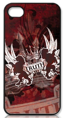 Truth Lion, John 14:6 iPhone 4 Case, Red  -