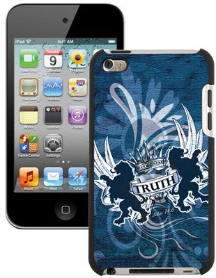 Truth Lion, John 14:6 iPod 4G Case, Blue  -