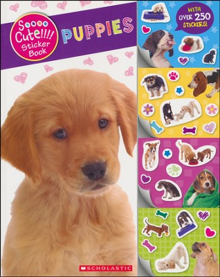 Soooo Cute!!!! Sticker Book: Puppies  -     By: Mae Brown