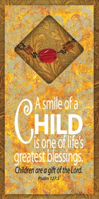 Smile of a Child Easeled Magnet  -