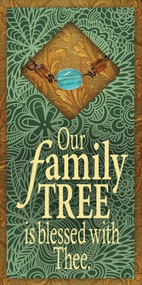 Our Family Tree Easeled Magnet  -