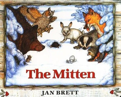 The Mitten (Board Book Edition)  -     By: Jan Brett