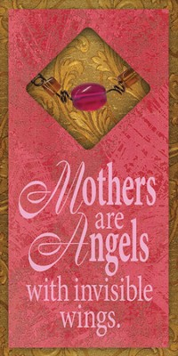 Mothers are Angels Easeled Magnet  -