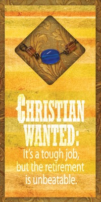 Christian Wanted Easeled Magnet  -
