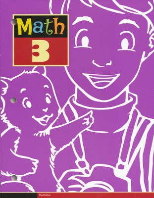 BJU Math Grade 3 Student Text, Third Edition    -