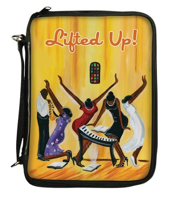 Lifted Up Bible Organizer Cover  -