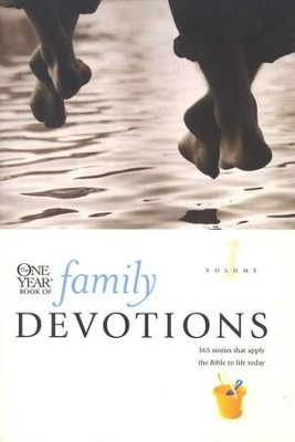 The One-Year Book of Family Devotions, Volume 1   -