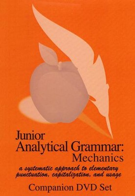 Junior Analytical Grammar Mechanics Companion DVD Set (2 DVDs)   -