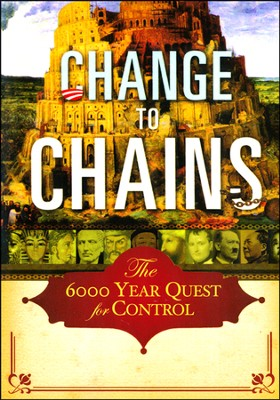 Change to Chains: The 6000 Year Quest for Control DVD Set (3 DVDs)  -     By: William J. Federer
