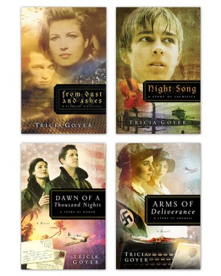 Tricia Goyer WWII Series: From Dust and Ashes, Night Song, Dawn of a Thousand Nights, and Arms of Deliverance - eBook  -     By: Tricia Goyer