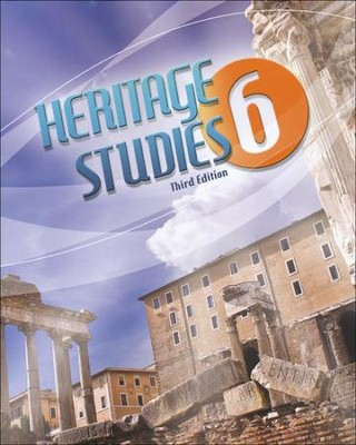 BJU Heritage Studies Grade 6 Student Text, Third Edition    -