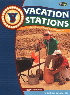 BJU Press Vacation Stations Grades 6-7   -