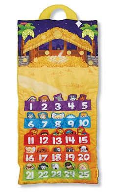 Fisher Price Nativity Advent Calendar   -