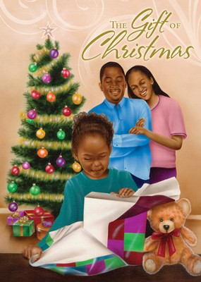 The Gift of Christmas Cards, African American , 15 Cards  -