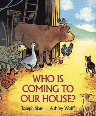 Who is Coming to Our House? Board Book   -     By: Joseph Slate