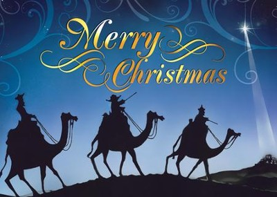 Wise Men Christmas Cards, African American , 15 Cards  -