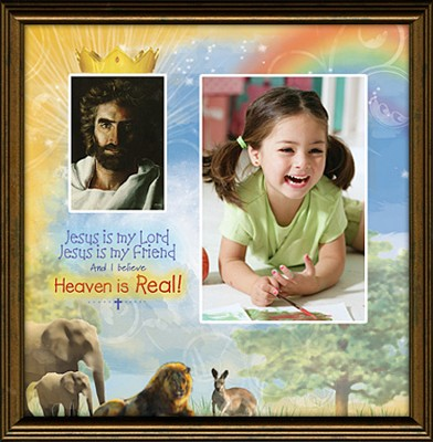 Heaven is Real Framed Print  -     By: Akiane Kramarik