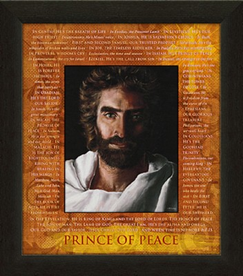 Prince of Peace Framed Art  -     By: Akiane Kramarik