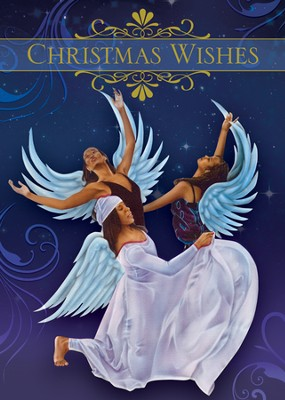 Angels Christmas Wishes Cards  -