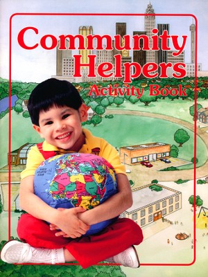 Community Helpers Activity Book   -