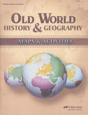 Old World History & Geography Maps & Activities   -
