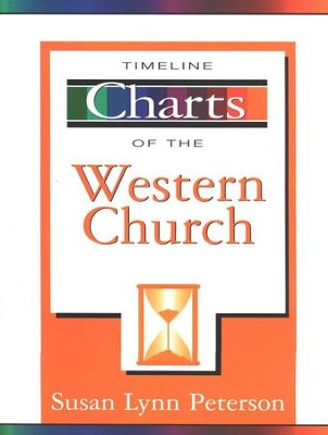 Timeline Charts of the Western Church   -     By: Susan Lynn Peterson