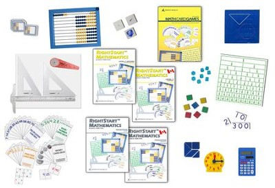 RightStart Mathematics Level C Starter Kit, 1st Edition   -